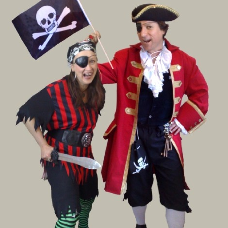 pirates Allin and Pamela Kempthorne