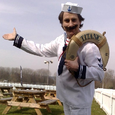 titanic sailor entertainer