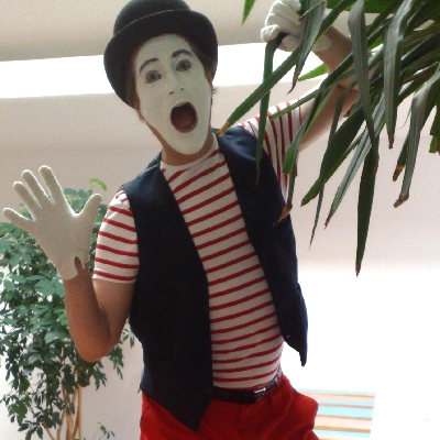 hire a mime artist